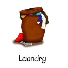 Pin by angela weil. Chores clipart laundry