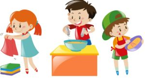 Brookridge day . Chores clipart school