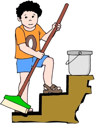 Chores clipart to do. Household panda free images