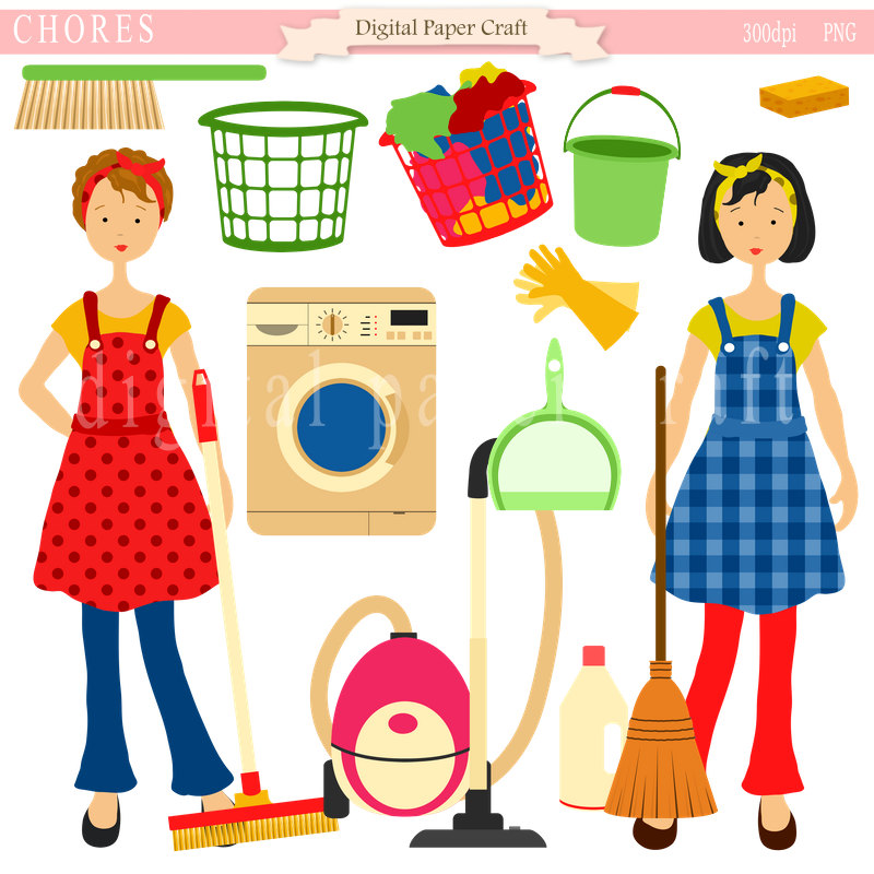 Free pictures download clip. Chores clipart to do