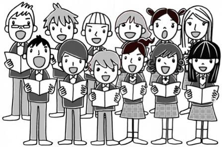 Chorus clipart. Choir clip art free
