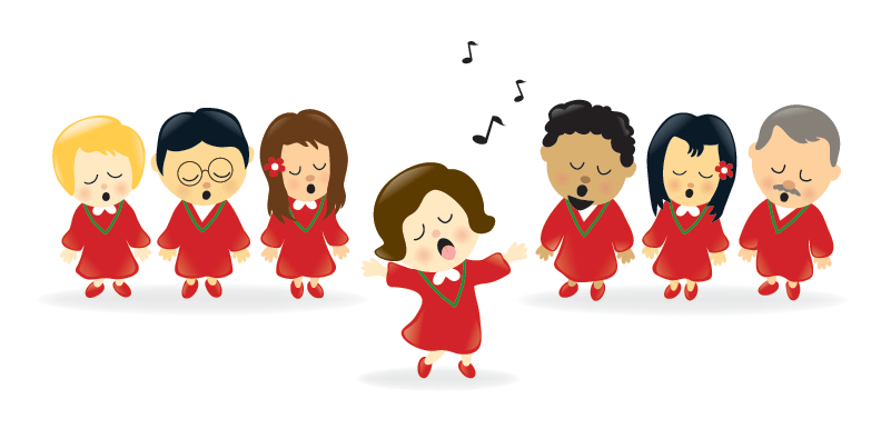 Chorus clipart acapella. Holding your own part