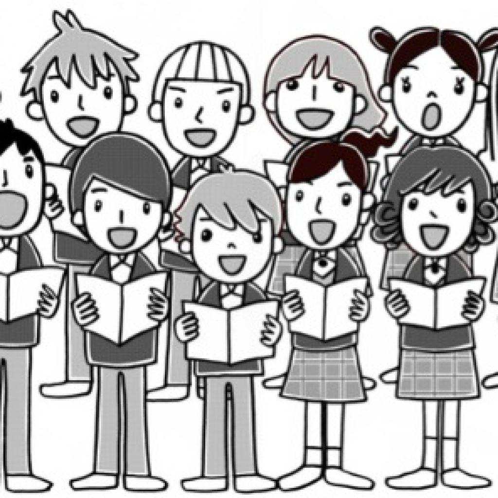 St patricks day hatenylo. Chorus clipart black and white