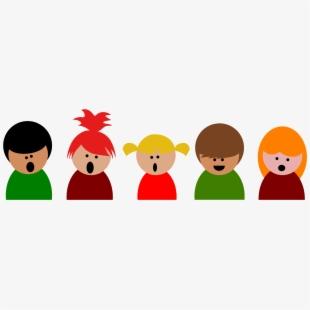 Chorus clipart childrens choir. Singer children