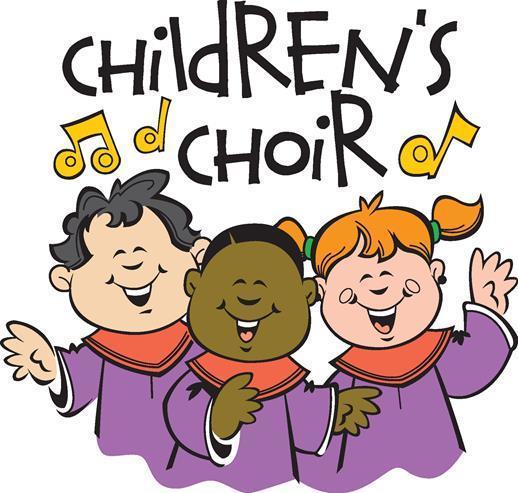 Chorus clipart childrens choir. Church of saint leo