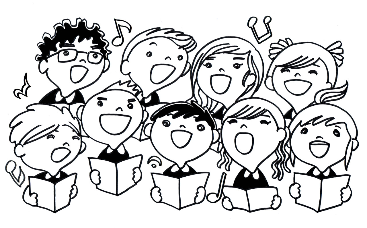 Choir clipart child choir. Chorus news frederick county
