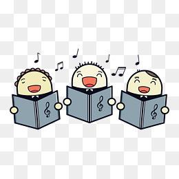 Chorus clipart cute. Png images vectors and