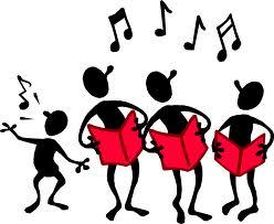 Choir clipart cute. Free dinner theatre cliparts