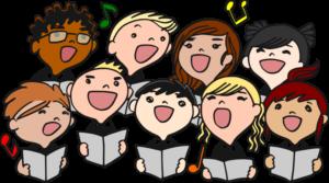 K w barrett cartoon. Chorus clipart elementary chorus