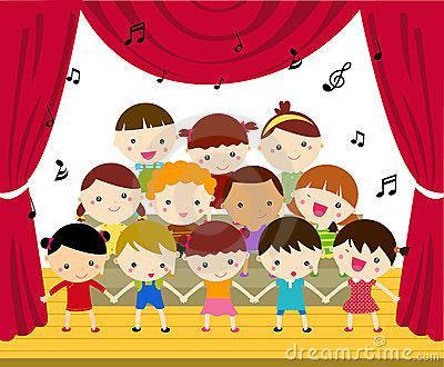 Chorus clipart elementary chorus. Mayo school pto concert