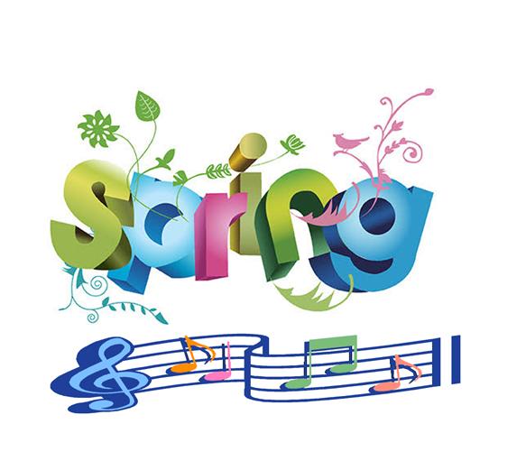 Chorus clipart elementary chorus. Grady spring pta news
