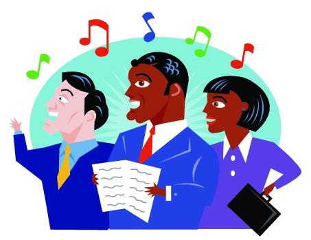 Fast forward austin choir. Chorus clipart ensemble