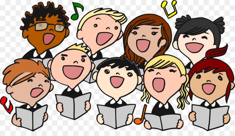 Chorus clipart ensemble. Choir mens singing free