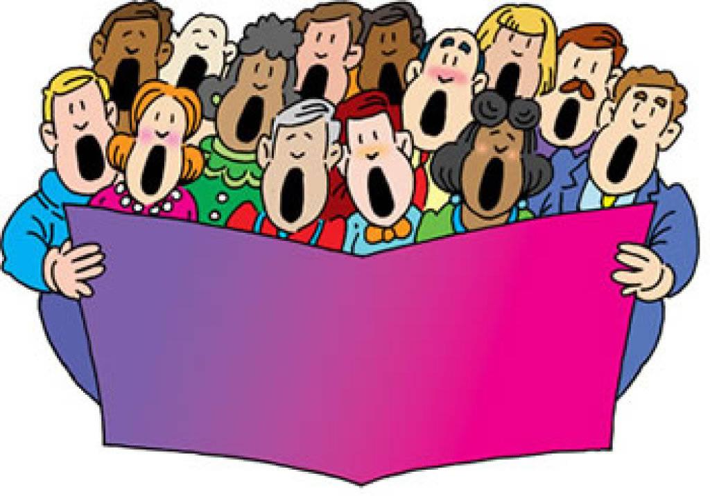 Pictures of a choir. Chorus clipart ensemble
