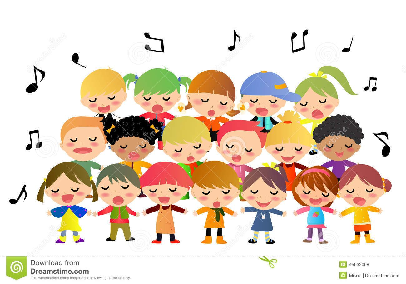 Audition stock illustrations vectors. Choir clipart winter