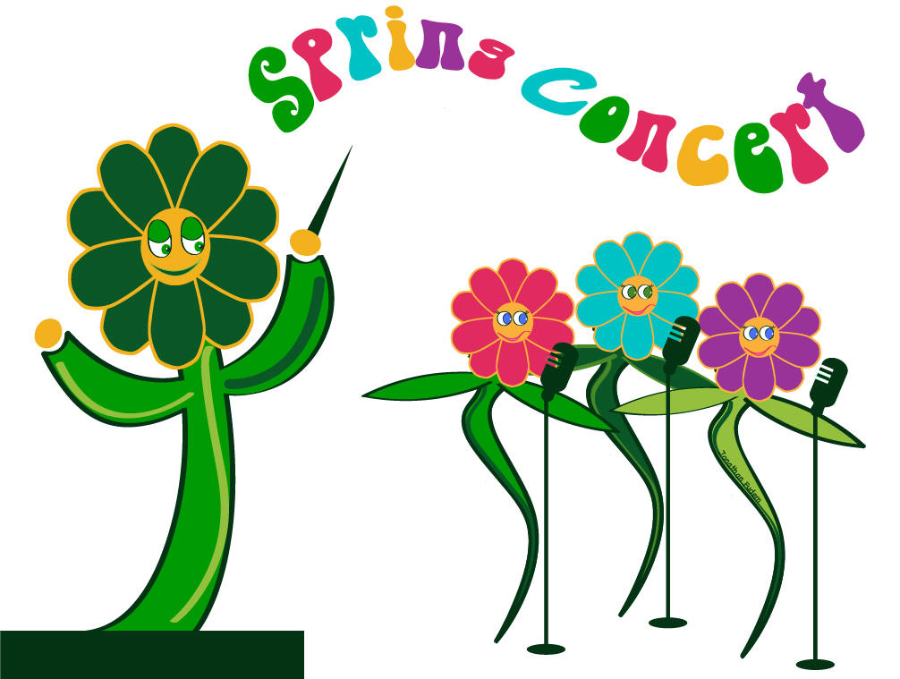 chorus concert savin. Choir clipart spring