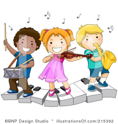 Class panda free images. Orchestra clipart music classroom