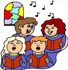 Free church. Choir clipart children's