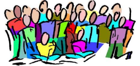 Image of choir church. Agenda clipart resident meeting