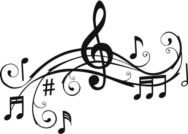 Music image of musical. Orchestra clipart