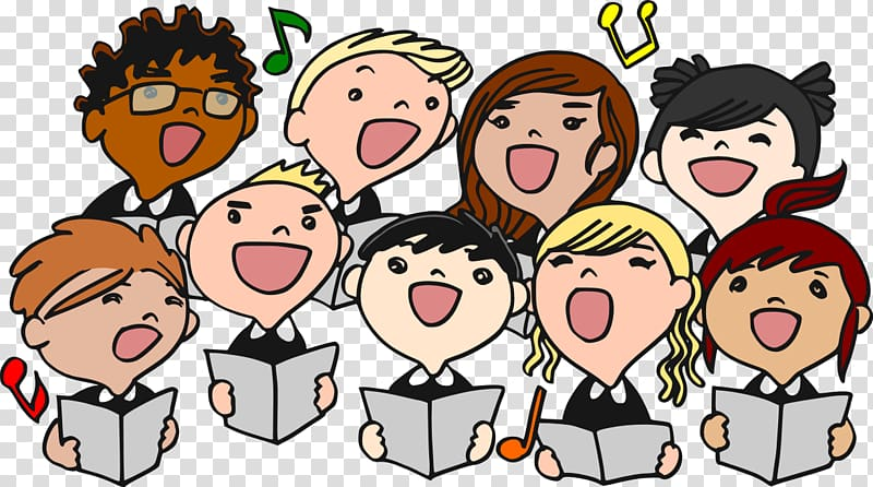 Chorus clipart transparent. Choir mens singing free