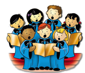 Childrens choirs saint jude. Chorus clipart transparent