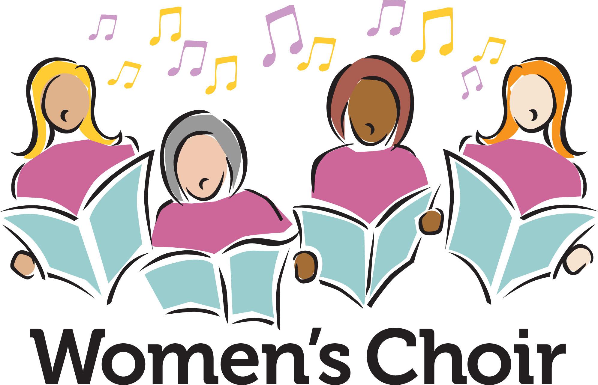 Chorus clipart women's. Choir images free download