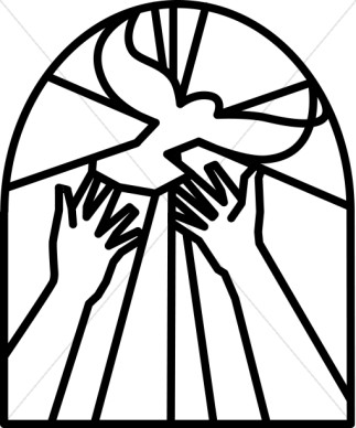 Christian clipart black and white. Religious free download best