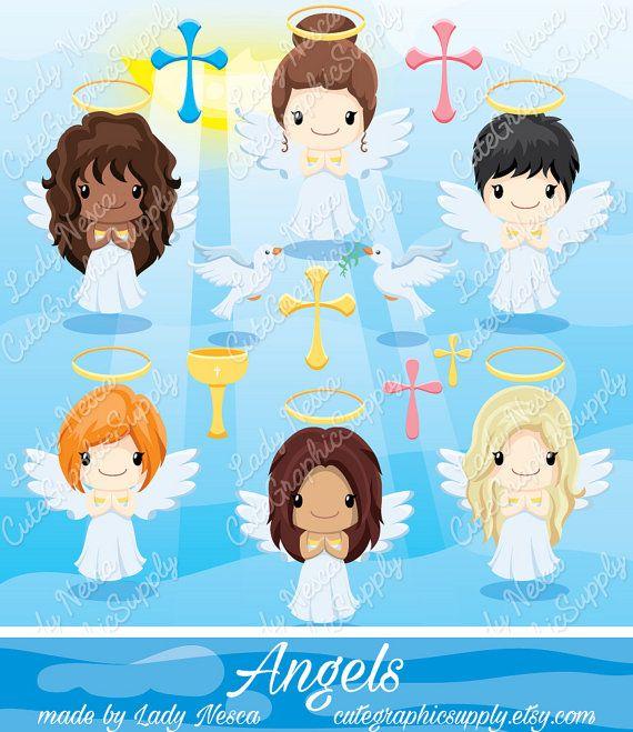 Angels angel holy church. Christian clipart catholic