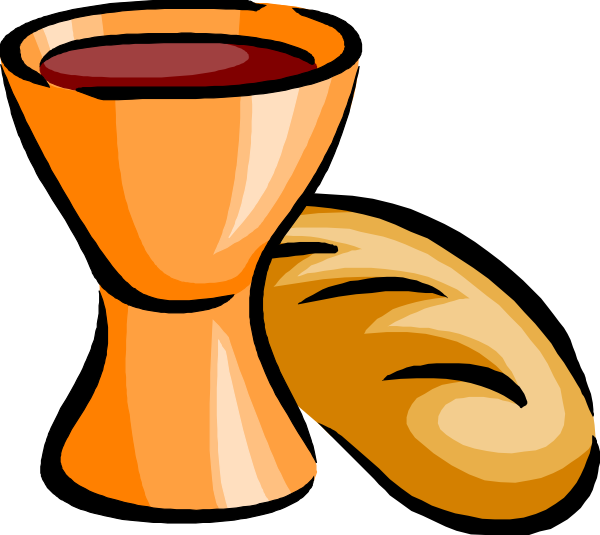 Christian Communion Bread Clipart