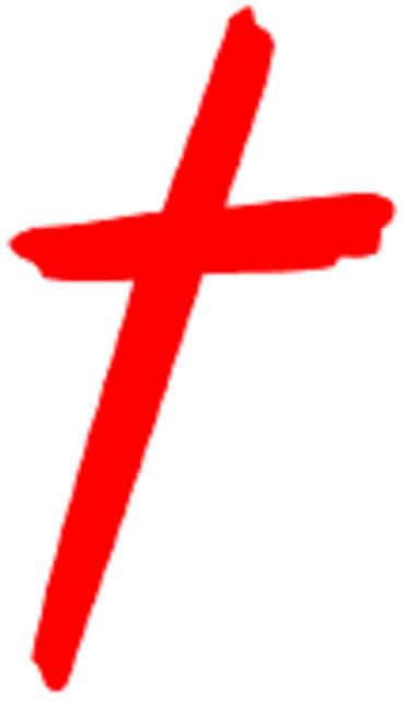 Christian clipart cross. Jesus carrying silhouette at
