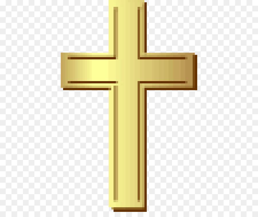 Gold background cross transparent. Christian clipart crucifix
