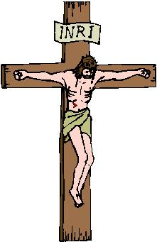 Christian clipart crucifixion. Station eleven