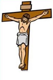 Crucifix clipart crucified jesus. Free christian crucifixion cliparts