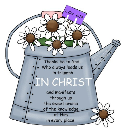 Christian clipart cute. Scent sational idea to