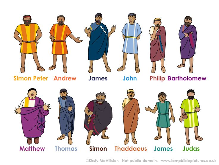 Christian clipart disciples.  best the images