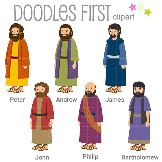 of the digital. Christian clipart disciples
