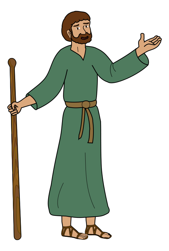 Paul the disciple . Christian clipart disciples