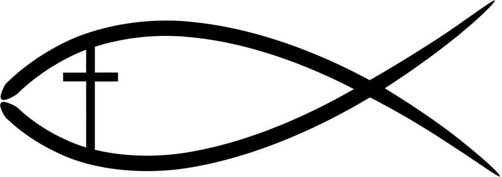 Christian clipart fish. Logos