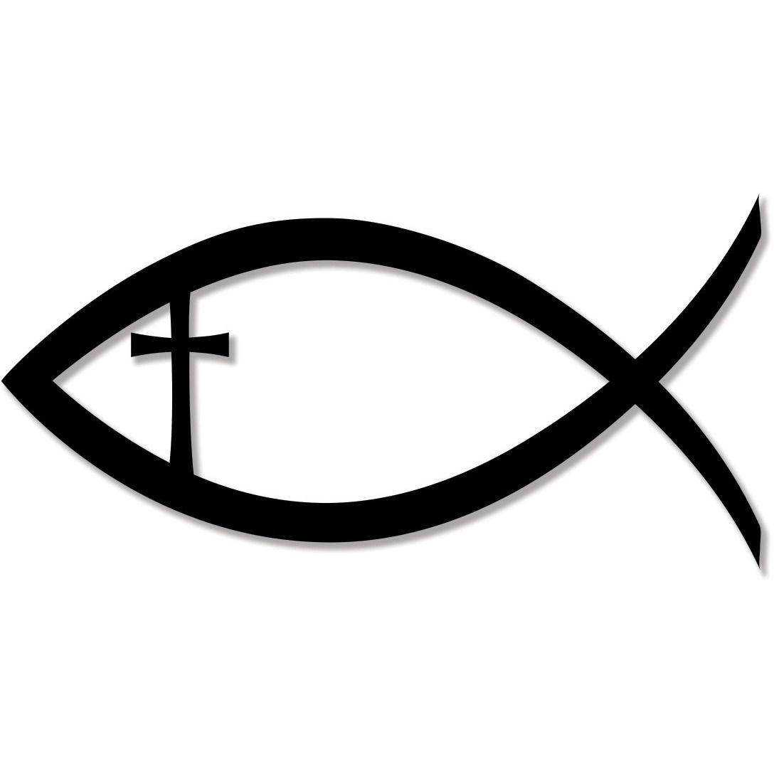 Jesus christ cross faith. Christian clipart fish