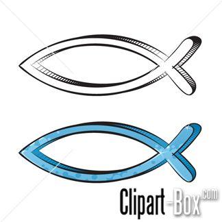 Christian clipart fish.  best symbols images