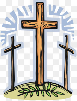 Crucifix png and psd. Christian clipart good friday