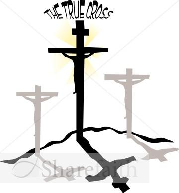 Christian clipart good friday. The true cross jesus