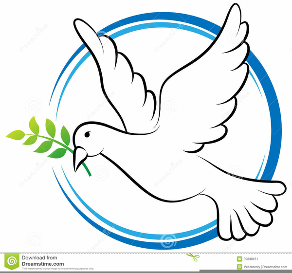 Free dove images at. Christian clipart line