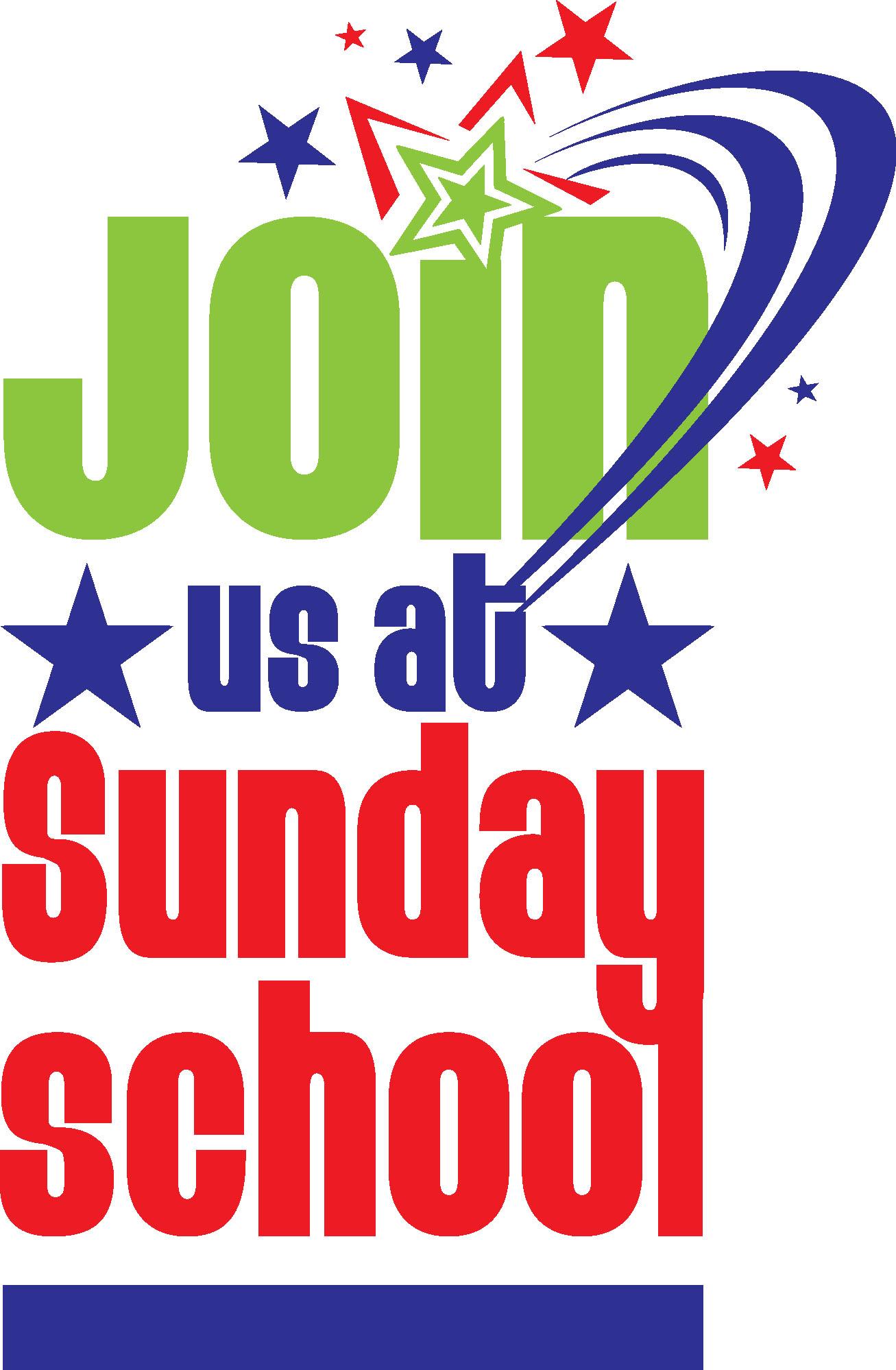 Sunday school . Christian clipart logo