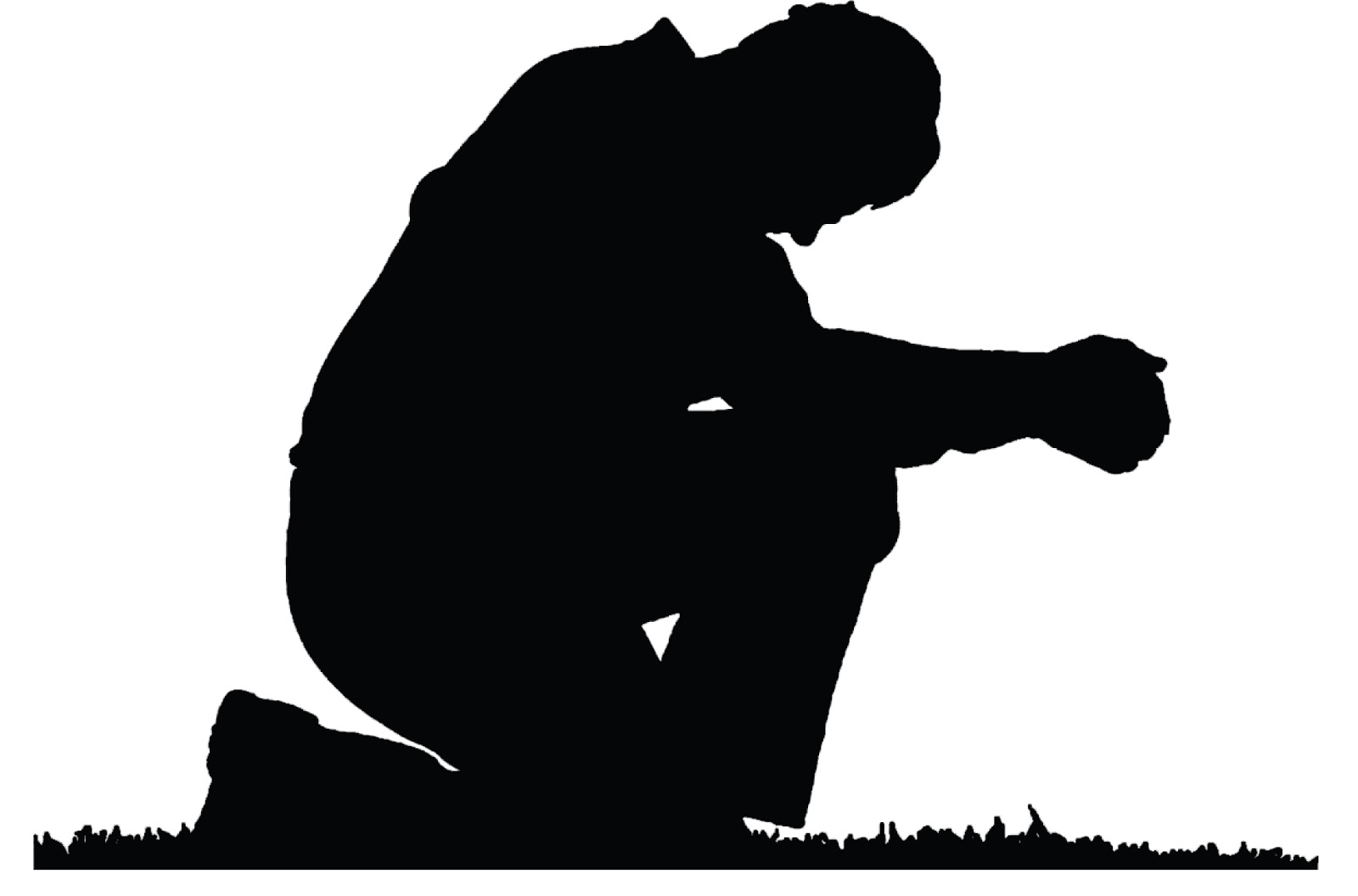 Christian clipart sad. Word from the pastor