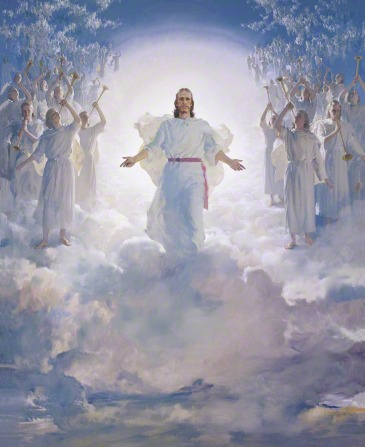 The . Christian clipart second coming