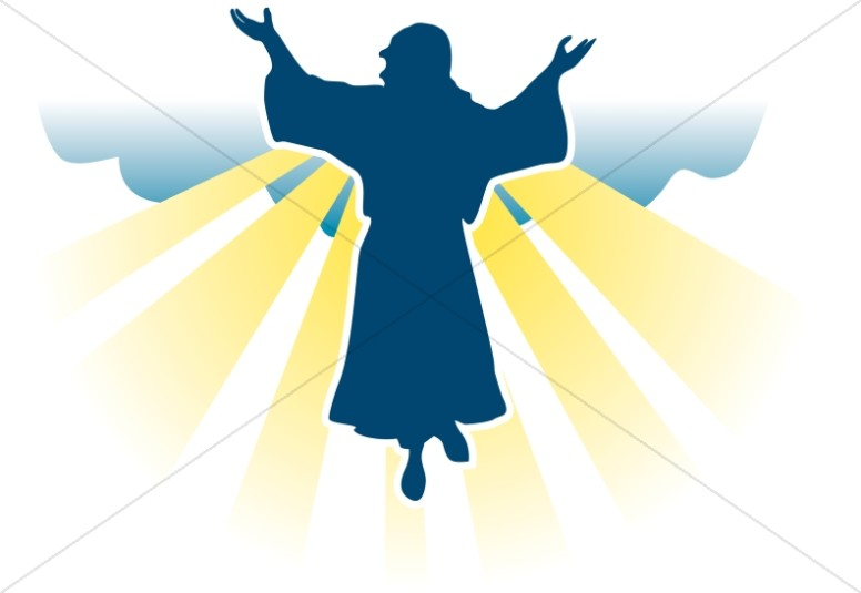 Pictures of jesus ascension. Christian clipart second coming