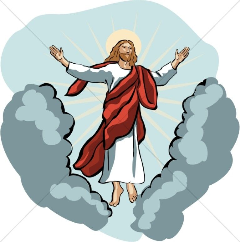 Christian clipart second coming. Clip art