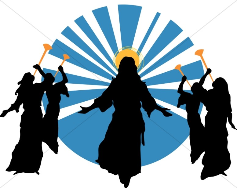 Christian clipart second coming. Ascension day